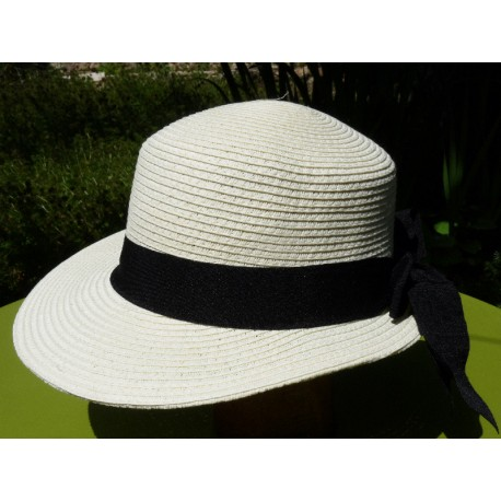 Chapeau Giuditta blanc