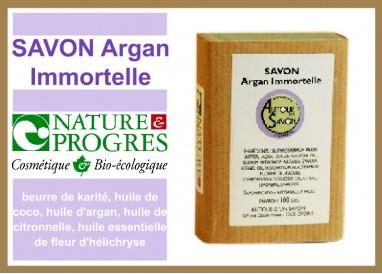 Savon Argan Immmortelle