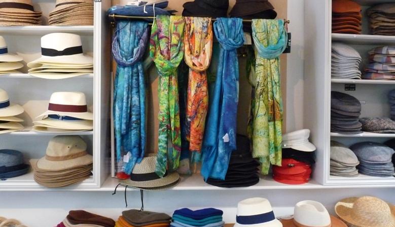 foulards impressionnistes en laine